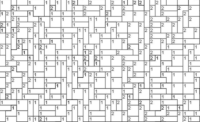 Vorlage für Ministeck Löwin 80x60cm schwarz/weiß als Entwurfdruck