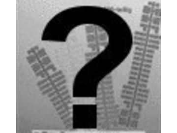 Wunschvorlage für Ministeck schwarz/weiß als Volldruck